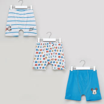 Mickey Mouse Printed Boxers - Set of 3