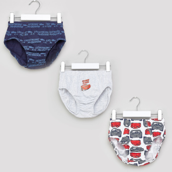 Cars Printed Briefs - Set of 3