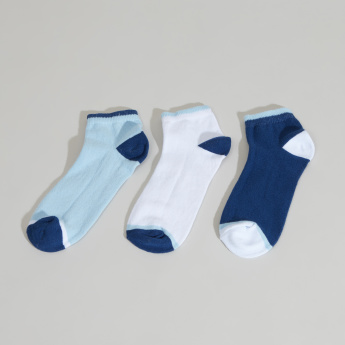 Juniors  Ankle-Length Cotton Socks - Set of 3