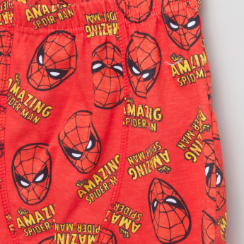 Spider-Man Printed Boxer Briefs with Elasticised Waistband - Set of 3