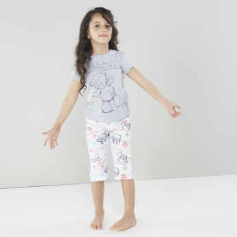 Carte Blanche Tiny Tatty Teddy T-shirt with Capris