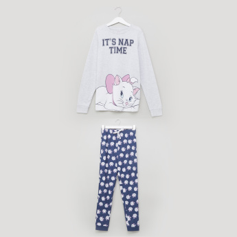 Marie Printed T-Shirt with Jog Pants
