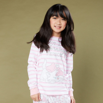 Marie Printed T-Shirt and Pyjama Set
