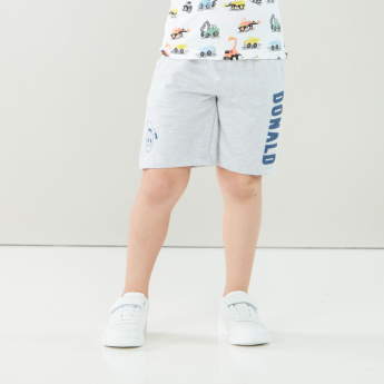 Disney Donald Duck Fun & Friends Printed Shorts with Pocket Detail