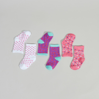 Shopkins Printed Socks - Set of 3