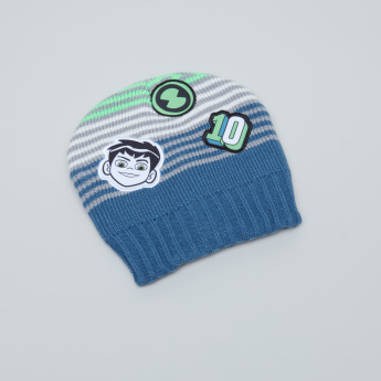 Ben 10 Printed Beanie Cap and Gloves