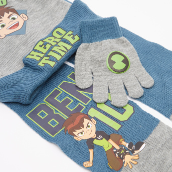 Ben 10 Printed 3-Piece Accessory Set