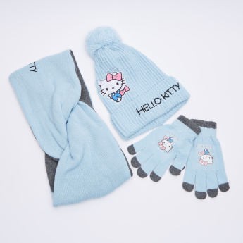 c9ff0ee04 Hello Kitty Printed 3-Piece Winter Accessory Set | Blue | Accessories Set