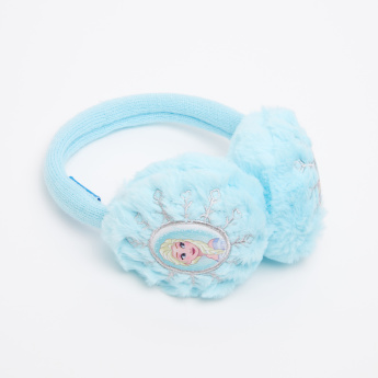 Frozen Embroidered Plush Earmuffs