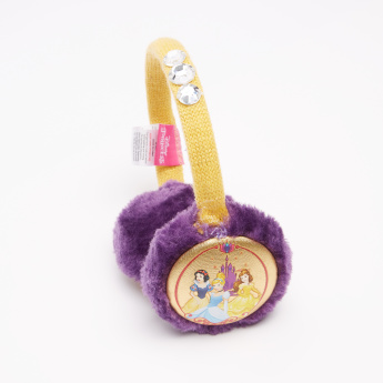 Princess Printed Plush Earmuffs