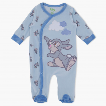 Thumper Printed Long Sleeves Sleepsuit