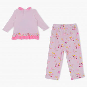 Miss. Bunny Printed Top and Pyjama Set