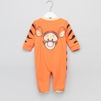 Tigger Printed Long Sleeves Sleepsuit