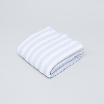 Juniors Striped Receiving Blanket - 76x76 cms