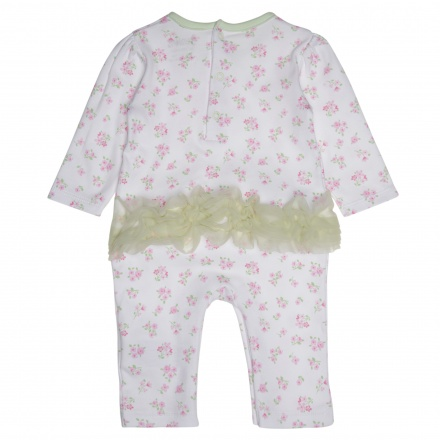 Juniors Floral Print Sleepsuit