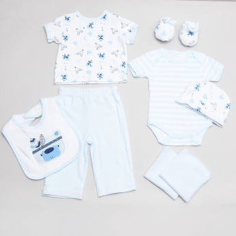 Juniors Printed 8-Piece Clothing Set